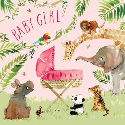 Fizzle Pop Card Collection - New Baby Girl