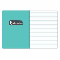 Bohemia Stationery - Plastic Cover Notebook - Big Ideas