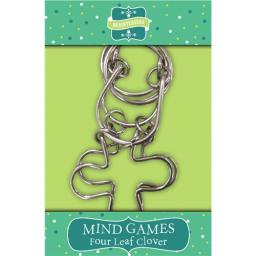 Brainteasers - Mind Game Puzzle - Four Leaf Clover (Intermediate)