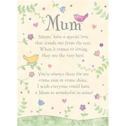 Mother's Day Card - Pretty Birds