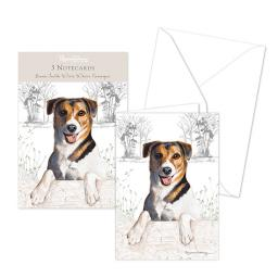 Pollyanna Pickering Stationery - Notecard Pack - Jack Russell