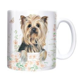 Straight Sided Mug - Yorkshire Terrier