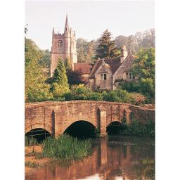 Perfectly Picturesque Card - Castle Combe (Cotswolds)