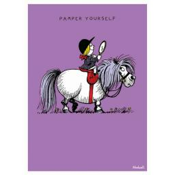 Thelwell Card - Pampered