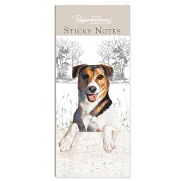 Pollyanna Pickering Stationery - Mini Sticky Notes Selection (Jack Russell)