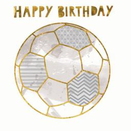 Superstar Card Collection - Football Birthday