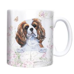 Straight Sided Mug - Cavalier King Charles