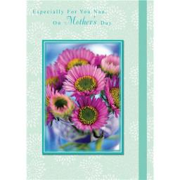 Mother's Day Card - Pink Floral
