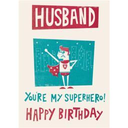 Family Circle Card - Husband
