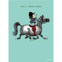 Thelwell Card - Jolly Good Show