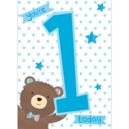 Magic Numbers Card - Baby Bear (Age 1)