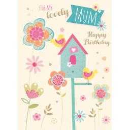 Family Circle Card - Birdhouse (Mum)
