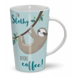 Latte Mug - I'm Slothy