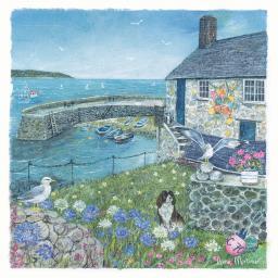 Seaside Charm Card - The Boathouse
