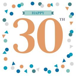 Age To Celebrate Card - 30