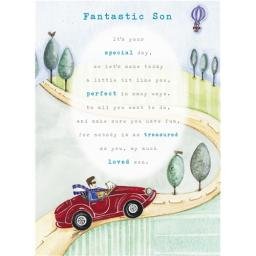 Sentiments Card - Fantastic Son