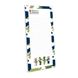 Help For Heroes Stationery - Magnetic Memo Pad