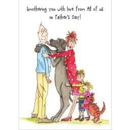 Fathers Day Card - Smothering You