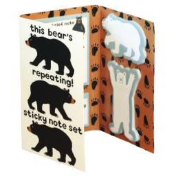 Bear Essentials Sticky Notes Set