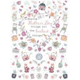 Mother's Day Card - Lovely Things In Heart