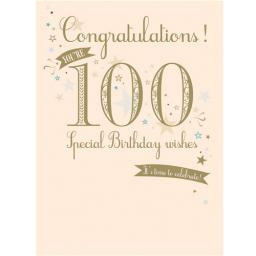 Age To Celebrate Card - 100 Generic