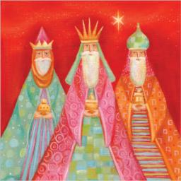 Charity Christmas Card Pack - Three Wise Men