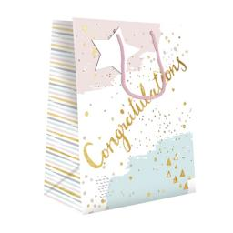 Gift Bag (Medium) - Pastel Congratulations