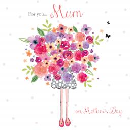 Mother's Day Card - Mum Bouquet