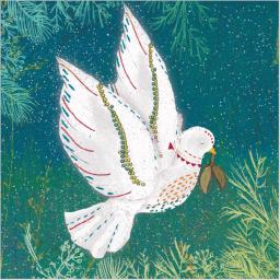 Charity Christmas Card Pack - Winter Dove