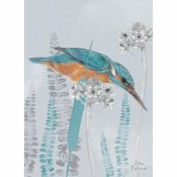 RSPB Card - In the Flowers - Kingfisher Lookout
