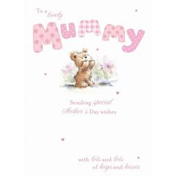 Mother's Day Card - Cute Teddy