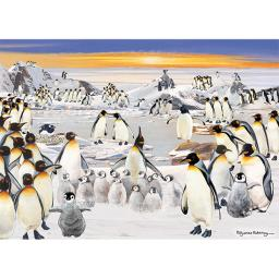 Rectangular Jigsaw - Penguin Party