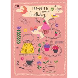 Marie Curie Card (Range 2) - Birthday Tea