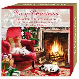 Assorted Christmas Cards - Cosy Christmas