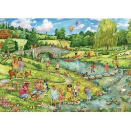 Rectangular Jigsaw - The Great Outdoors