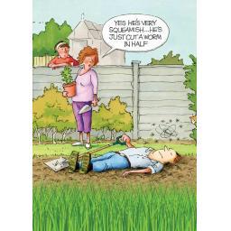 Gardeners Weakly Card - Squeamish