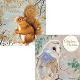 Luxury Christmas Card Pack - Winter Wildlife