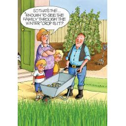 Gardeners Weakly Card - Winter Crop