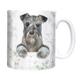 Straight Sided Mug - Schnauzer