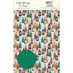 Gift Wrap & Tags - Bottles