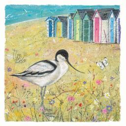 Seaside Charm Card - Summer Avocet