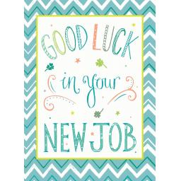 Good Luck Card - New Job
