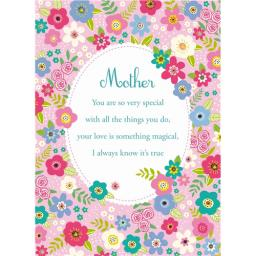 Mother's Day Card - Flower Frame