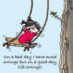 Little Else Card - Mood Swings