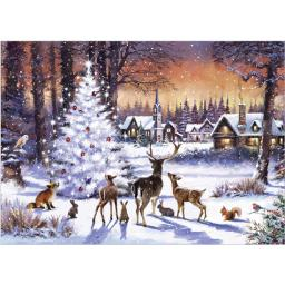 Rectangular Jigsaw - Christmas Gathering