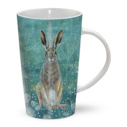 Latte Mug - Handsome Hare