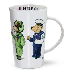 Latte Mug - Help For Heroes Bears