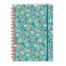 Bohemia Stationery - A5 Hardcover Notebook - Ditsy Floral