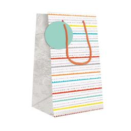Gift Bag (Small) - Colourful Stripes
