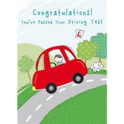 Congratulations Card - Driving Test